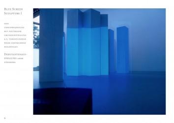 22 Blue Screen Sculpture I