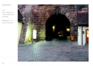 Angsthase, 2002, Gobo-Projektion, Nürnberg