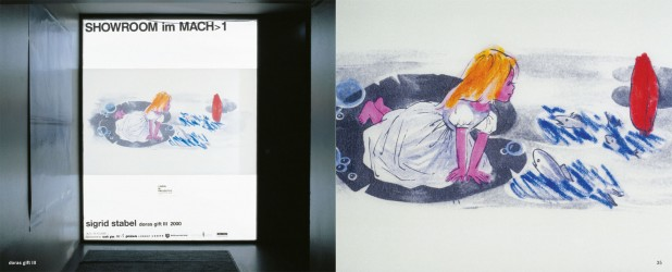 doras gift III, 2000, Duratrans, Showroom Galerie Lindig in Paludetto, Nürnberg