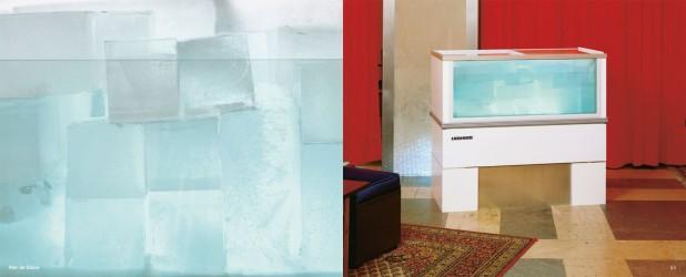 Mer de glace, 1998, Ausstellung ißwas, BA-Hotel, Nürnberg